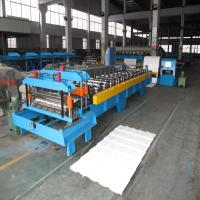 Buy cheap Colorful Metal Board 0.4mm Corrugated Roll Forming Machine from wholesalers