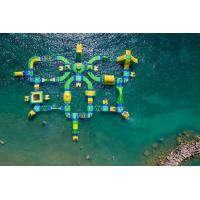Wholesale Big 60 People Wibit Sports Park , Resort Inflatable Floating Water Park For Summer from china suppliers