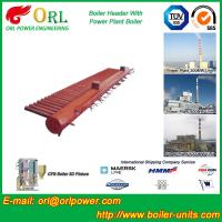 Wholesale Water Tube Boiler Header Manifolds TUV Standard , Water Boiler Header from china suppliers