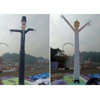 Wholesale Inflated Air Sky Dancing Air Man , Eye - Catching Inflatable Advertising Man from china suppliers