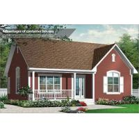 China Customized Modern Villa Light Steel Structure House / Prefab Bungalow Homes on sale