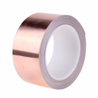China Heat Resistant Thickness 0.035mm Thermal Copper Foil Tape on sale