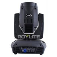 Quality Beam 330 Lamp 2.5° Angle15R Beam Moving Head Light Gobo Color Wheels Acurate for sale