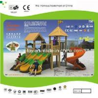 Wholesale Colorful Wooden Series Outdoor Playground Equipment (KQ10152A) from china suppliers
