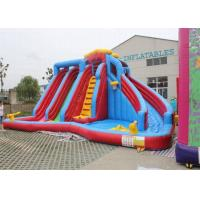 Wholesale  Approved Large Garden Inflatable Double Water Slide For Children from china suppliers