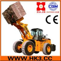 Buy cheap block handle equipment wheel loader can lift 27tons from Wholesalers