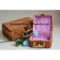 hot selling hand weaving fashion eco-friendly  picnic basket/storage basket from Guangxi,China for sale