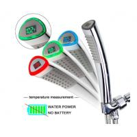 Buy cheap JK-2600 LED Thermometer Handheld Shower Heads Water Powered Light to Display from wholesalers