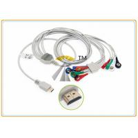 Buy cheap Snap 10 Lead Patient ECG Electrode Cable AHA Standard Biox Holter Compatible from wholesalers