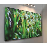 Buy cheap 100 Inch Fixed Frame Screen Black Diamond Projector Screen 170° View Angle from wholesalers