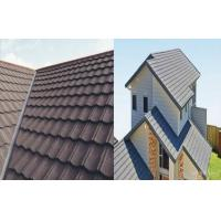 Wholesale Aluminum - Zinc Coating Stone Chip Coated Steel Roof Tiles Durable from china suppliers