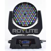 Wholesale Theatre 108 x 3w RGBW Moving Head Led Lights Beam Angle 25° Super Bright from china suppliers