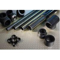 China polyethylene black PE gas pipe flexibility good, strong corrosion resistance on sale