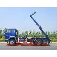 Wholesale Heavy Duty Howo 6X4 Hook Lift Garbage Truck / 18 Tons 10 - 12m³ Roll Off  Truck from china suppliers