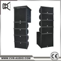 China CVR Factory Active 10 Inch Line Array Powered 18 Inch Subwoofer System With Dsp Amp on sale