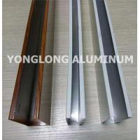 Wholesale Mechanical Strength Aluminum Curtain Wall Profile Extrusions Rectangle Shape from china suppliers