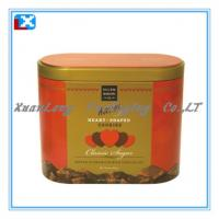 Wholesale rectangular biscuit cookies packing tin box /XL-W10 from china suppliers