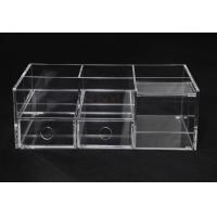 Wholesale Clear Commercial Store Fixtures 6 Compartments For Mix Makeup Store​ from china suppliers