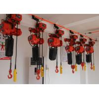 China Electric Chain Hoist With Low Headroom / Heavy Duty Performance For Lifting And Handling on sale