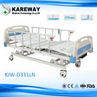 Wholesale Plastic Cranks Motorised Hospital Bed 1.2mm Thickness 3 Functions Hospital Furniture from china suppliers