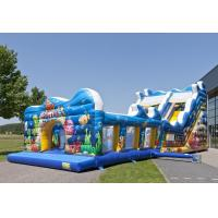 Wholesale Blue Sea Customized Commercial Inflatable Slide With Waterproof PVC Material from china suppliers