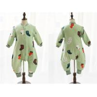 Wholesale Boys Girls Muslin Baby Pajamas / Cotton Baby Pajamas Snap Button Or Zipper from china suppliers