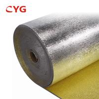 China Heat Reflective Material Fireproof PE Foam Panal HVAC Insulation Foam for sale