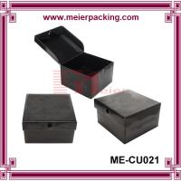 Wholesale Fashion Black Hat Cardboard Packaging Hat Boxes/Rigid hat gift box ME-CU021 from china suppliers