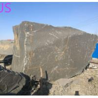 China Shanxi Black Granite Block Stone for Monument/Countertop/Fireplace/Engineering Slabs for sale