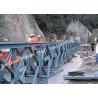 200 Type Permanent Galvanized Surface Treatment Steel Bailey Bridge Double Rows Bridge for sale