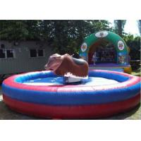 Wholesale Crazy Funny Inflatable Interactive Games Mechanical Bull Rodeo For Park from china suppliers