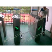 Quality IR Sensor Speed Gates , Drop Arm Entrance Barrier Gate Alarm Light Flashing for sale