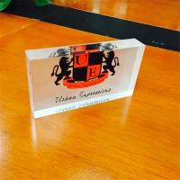 Wholesale Factory wholesale design acrylic business gift paperweight from china suppliers