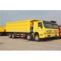 Wholesale SINOTRUK HOWO 8X4 12 Wheelers Dump Truck For Mining Site And Construction Project from china suppliers