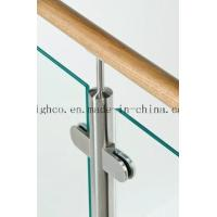 Stainless Steel Middle D Shape Flat Glass Clamp High Polished 63x45mm Fit 6-10mm Glass for Glass Railing and Handrail