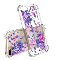 Quality Flower Slim Scratch Resistant TPU Bumper Cover PC Cell Phone Cases For IPhone 7 for sale