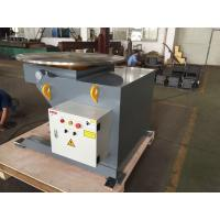 China 1.1kw Motor 2 Ton Head Tail Rotary Weld Positioner With Drive And Idler on sale