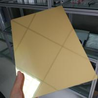 Wholesale Waterproof Aluminum Mirror Sheet 1mm 2mm 3mm Thickness Perforated Exterior from china suppliers