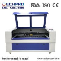 China Four heads laser engraving and cutting machine for Nonmetal TPJ1610 for sale