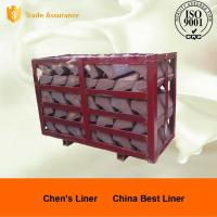 Wholesale High Cr Steel End Liner Castings HRC43-52 Hardness Abrasion Resistance from china suppliers