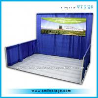 Wholesale wholesale low price used portable trade show booth pipe and draping for events from china suppliers