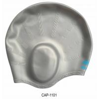 Wholesale Personalised Ear Protection Swimming Cap Waterproof Swim Caps For Long Hair from china suppliers