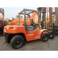 Wholesale Used Toyota 7 ton Forklift For Sale from china suppliers