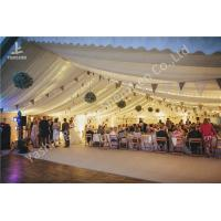 Quality Various Linings Fabric Cover Large Outdoor Tent Canopy For Wedding Reception for sale