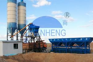 Wholesale HZS75 Ready Mix Batching Plant, Cement Batching Plant, automatic batching plant from china suppliers