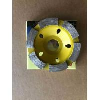 Buy cheap BMR TOOLS 80mm Diameter Diamond Cup Wheel For Marble and Concrete Grinding work from wholesalers