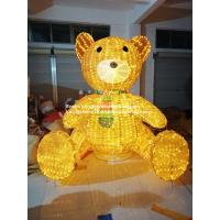 Wholesale large christmas bear motif light from china suppliers