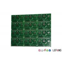 Buy cheap LF-HASL Surface Controller Circuit Board , 2 Sided Pcb FR4 ISO 14001 Certificate from wholesalers