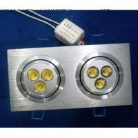 Wholesale Economize Indoor Flat Plane 3*1W 220V 6000K - 6500K Led Ceiling Lamp from china suppliers