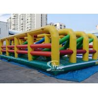 Wholesale Extreme Maze Obstacle 5k Course Inflatable Fun Run Challenge For Obstacle Games from china suppliers